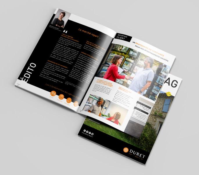 DURET-Redaction magazine