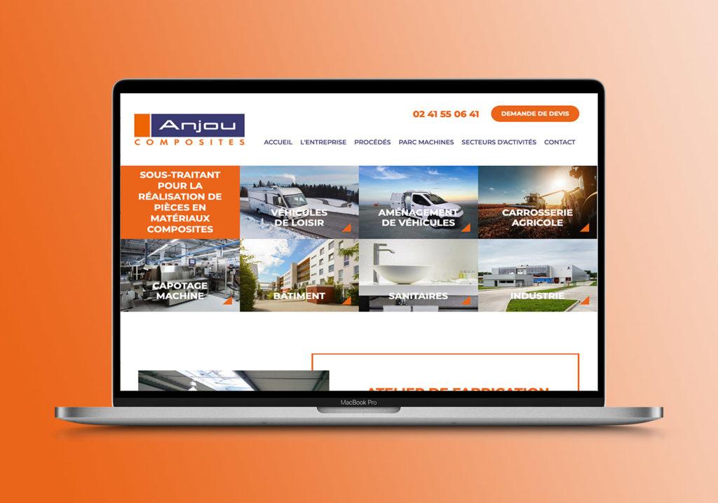 Anjou Composites-Redaction contenu site web