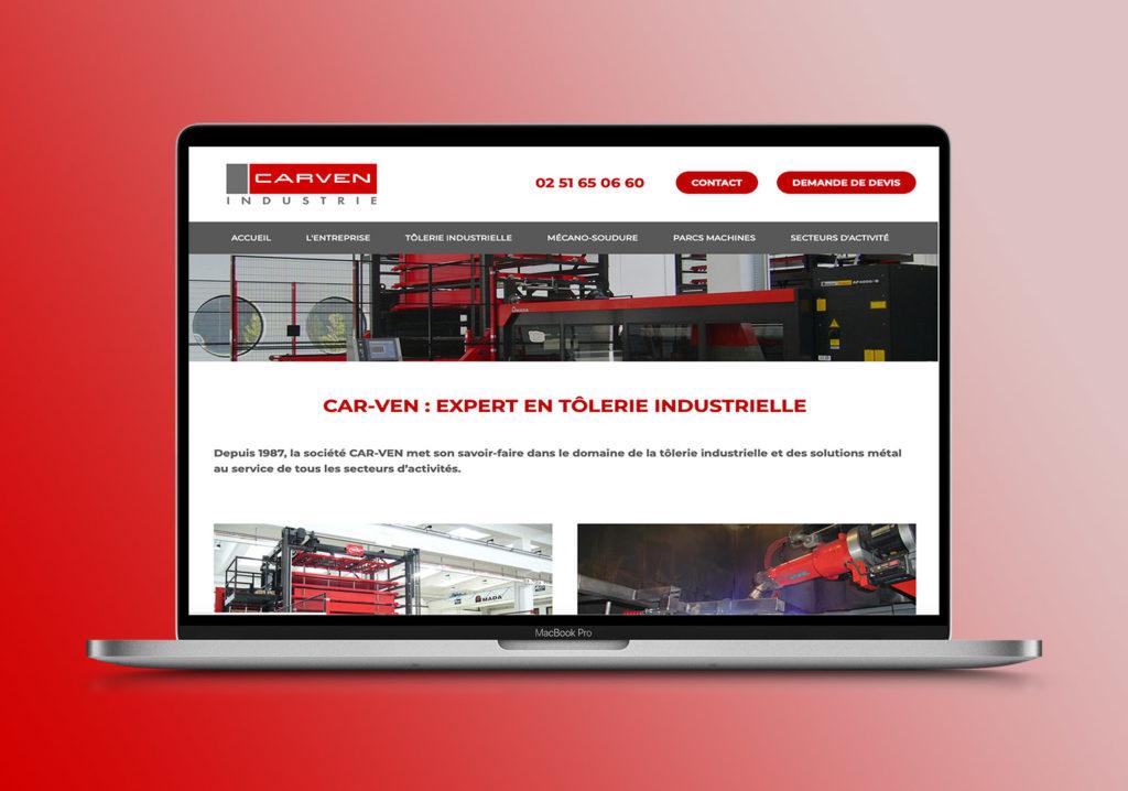Carven-Redaction contenu site web