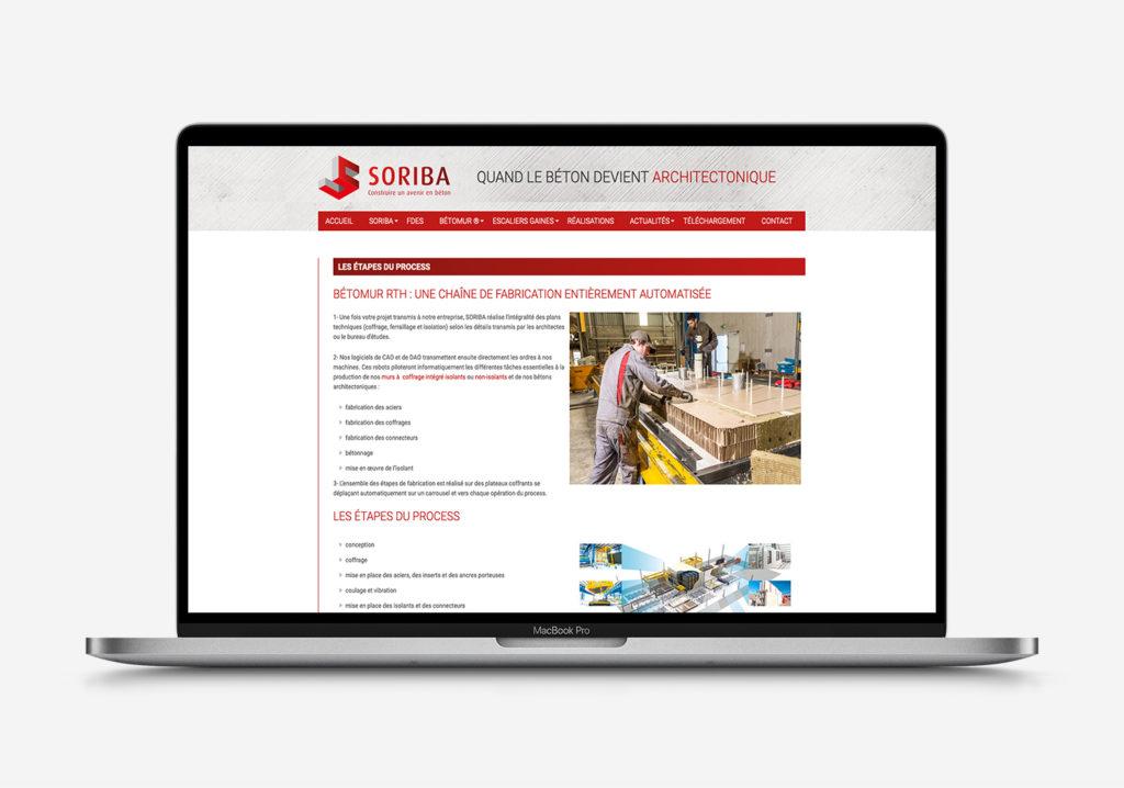 Soriba-Redaction contenu site web